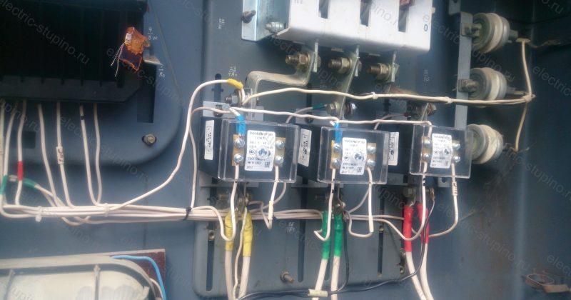 Замена трансформаторов тока в СНТ