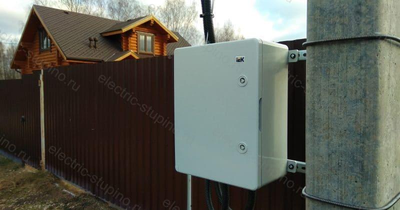 Подключение 15 кВт к частному дому